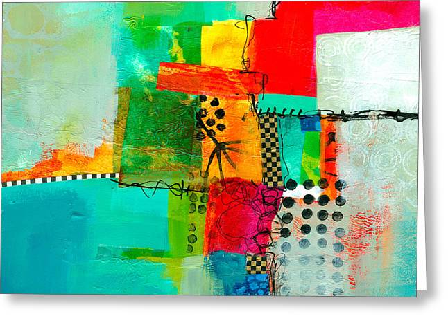 Fresh Paint #5 Greeting Card by Jane Davies
