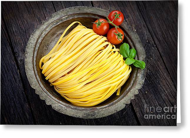 Fresh Pasta Greeting Card