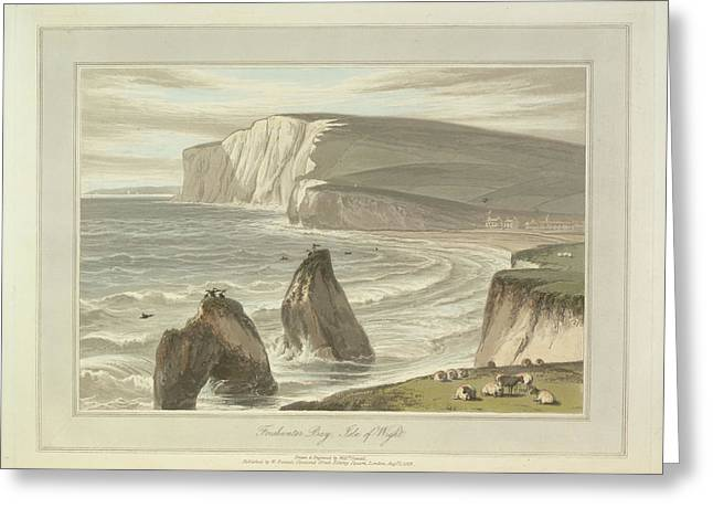 Freshwater Bay Greeting Card by British Library