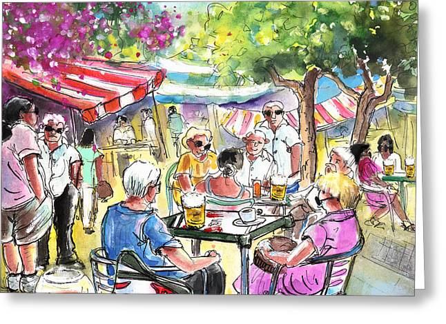 Friday Morning Market In Turre Greeting Card by Miki De Goodaboom