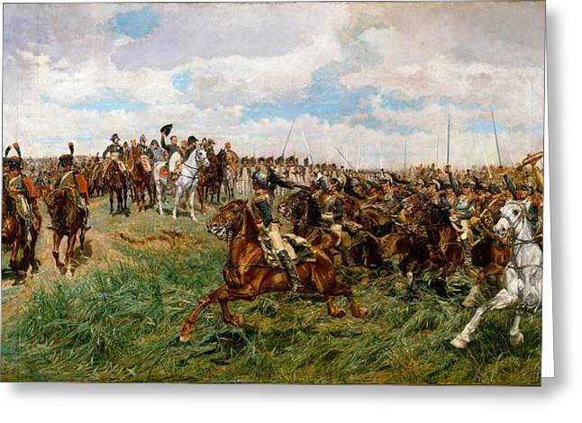 Friedland. 1807 Greeting Card by Ernest Meissonier