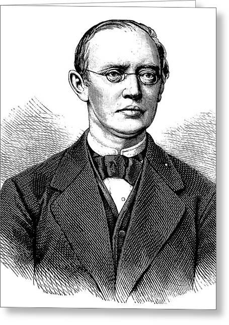 Friedrich Von Frerichs Greeting Card by Bildagentur-online/tschanz