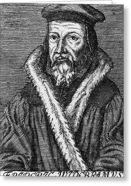 Friedrich Widebrand (1532-1585) Greeting Card