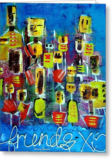 Friends In All Sizes Greeting Card by Harmony Thiessen