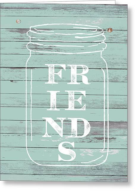 Friends Mason Jar Greeting Card
