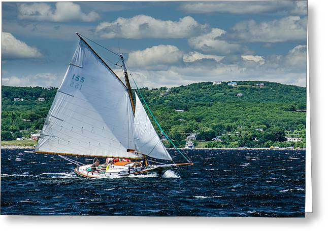 Friendship Sloop Greeting Card