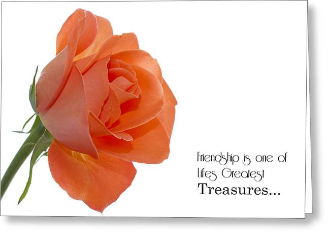 Greeting Card featuring the photograph Friendship Treasures by Kim Andelkovic