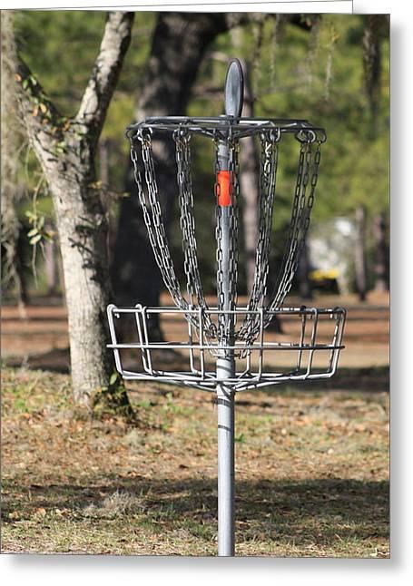 Frisbee Golf Greeting Card
