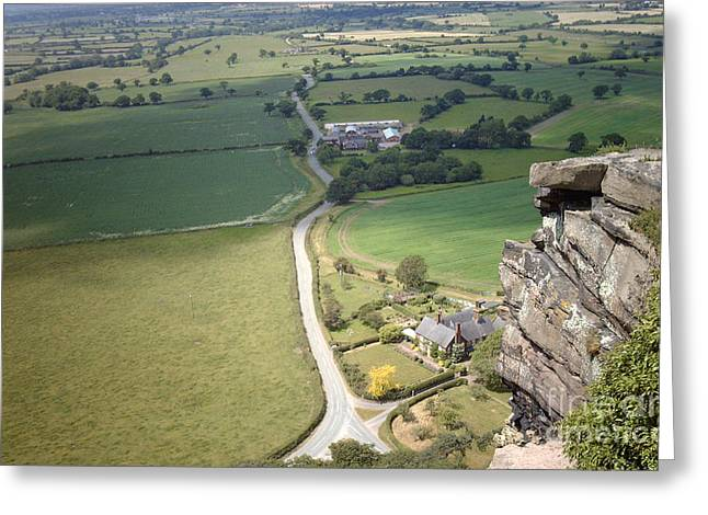 From Beeston Castle Cheshire England Greeting Card
