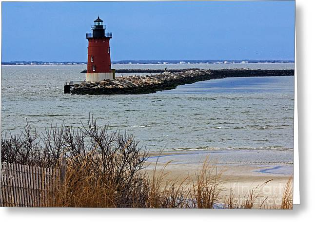From Henlopen Point 2 Greeting Card
