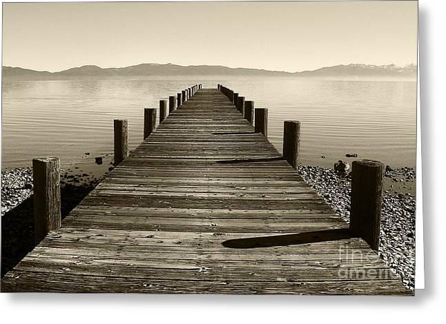 From North Lake Tahoe Greeting Card by John Debar