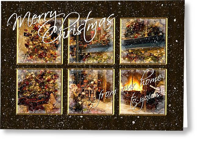 From Our Home To Yours Greeting Card by Blair Wainman
