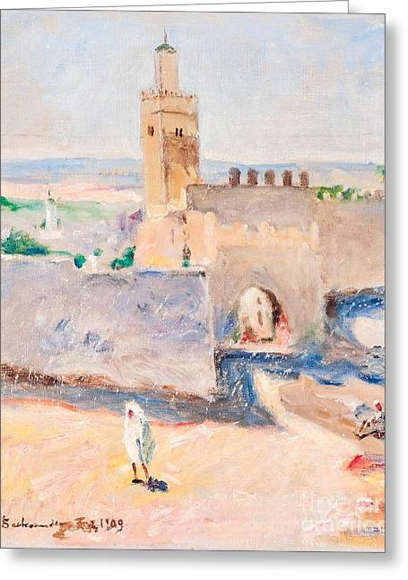 From Tangier Greeting Card