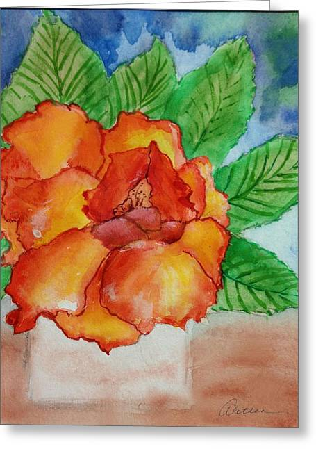 From The Garden Greeting Card by Alethea McKee
