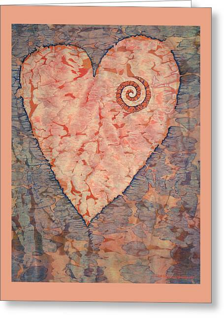 From The Heart Greeting Card by Lynda Hoffman-Snodgrass