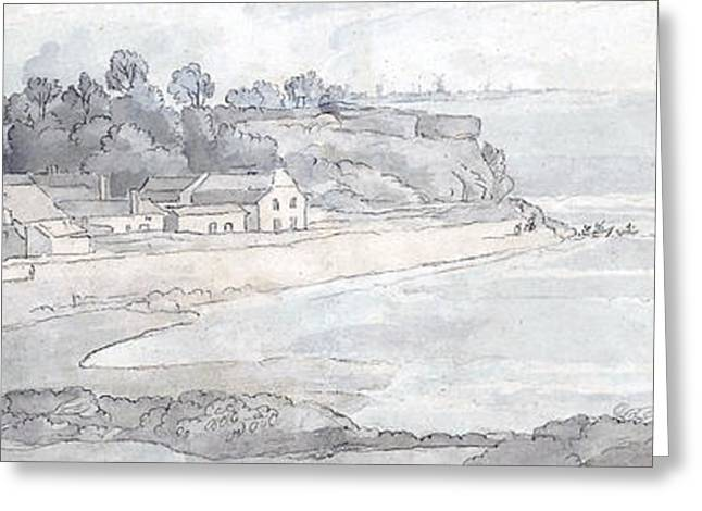 From The Heathfields Seat Greeting Card by Francis Towne