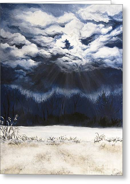 From The Midnight Sky Greeting Card
