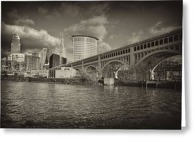 From The River Bank Greeting Card by Brent Durken