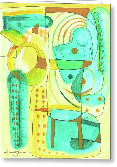 From Within 4 Greeting Card