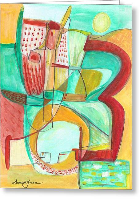 From Within 8 Greeting Card