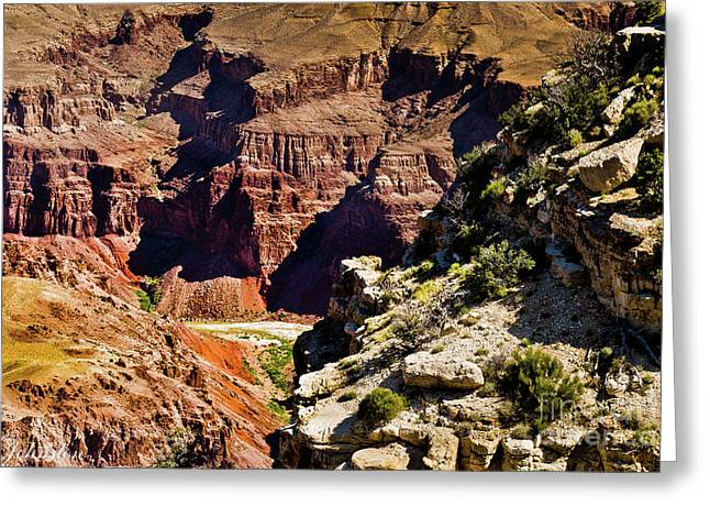 From Yaki Point 1 Grand Canyon Greeting Card by Bob and Nadine Johnston