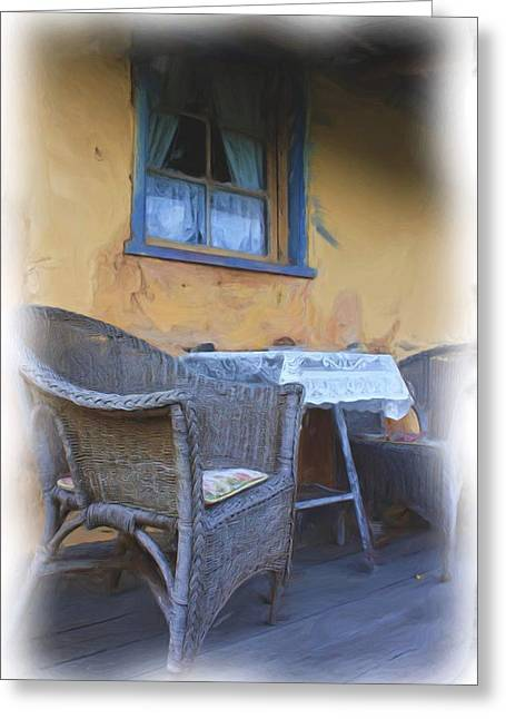 Front Porch. Greeting Card by Ian  Ramsay