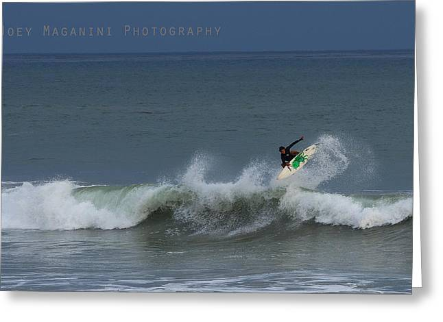 Frontside  Greeting Card by Joey  Maganini