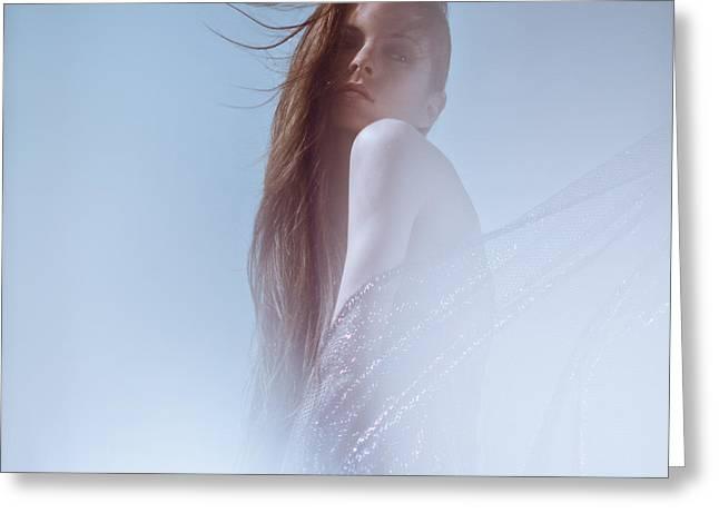 Frozen Greeting Card by Eugenia Kirikova