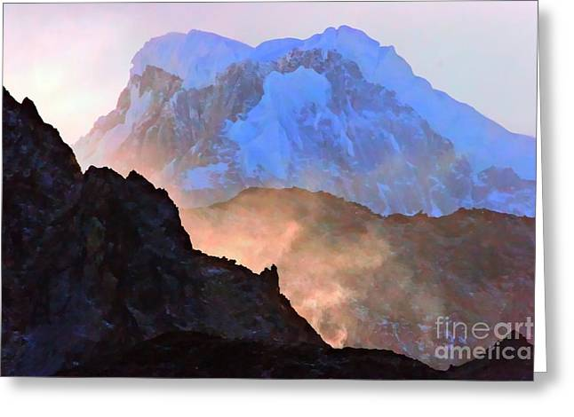Frozen - Torres Del Paine National Park Greeting Card by Tap On Photo