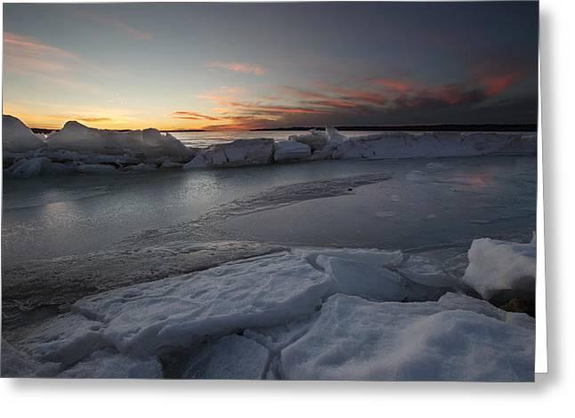 Frozen Missouri Greeting Card