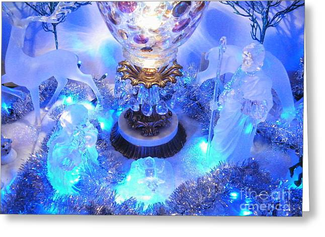 Frozen Nativity 2 Greeting Card