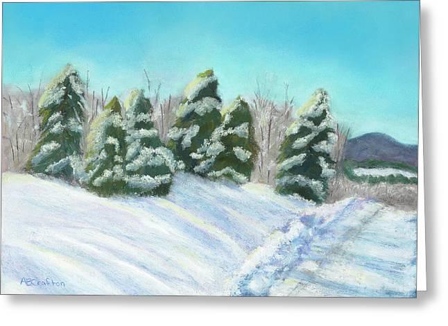 Frozen Sunshine Greeting Card