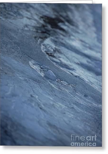 Greeting Card featuring the photograph Frozen Wave by First Star Art