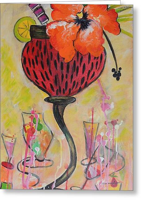 Fruit Cocktail Anyone Greeting Card