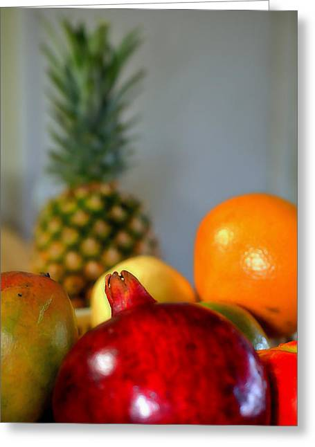 Fruit Exotique Greeting Card by See My  Photos