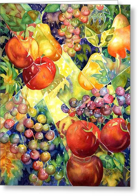 Fruit Fantasy Greeting Card