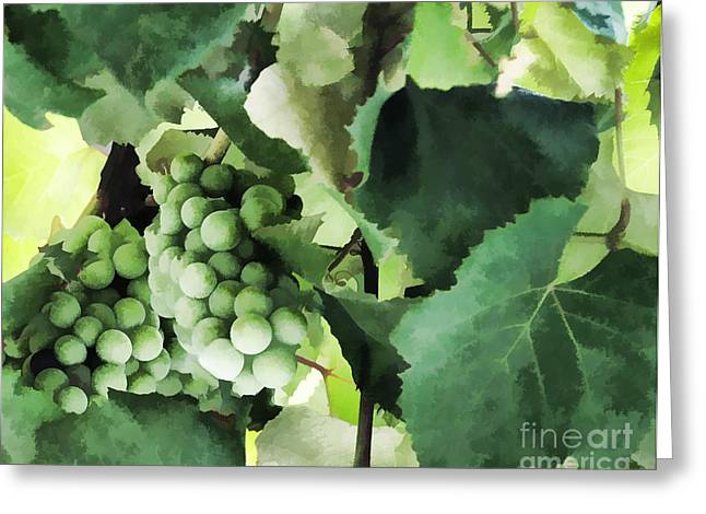 Fruit - Fruit Of The Vine - Luther Fine Art Greeting Card by Luther Fine Art