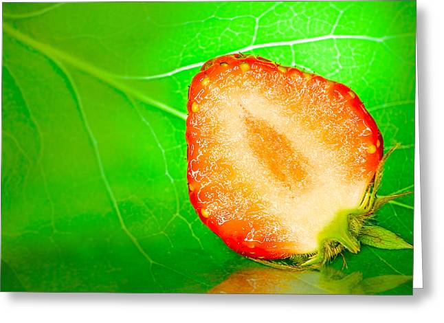 Fruit Of Rainy Summer Greeting Card by Janne Mankinen