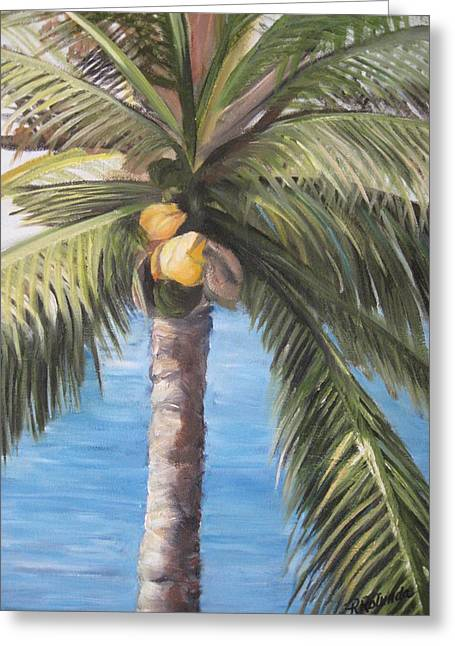 Fruit Of The Palm Greeting Card