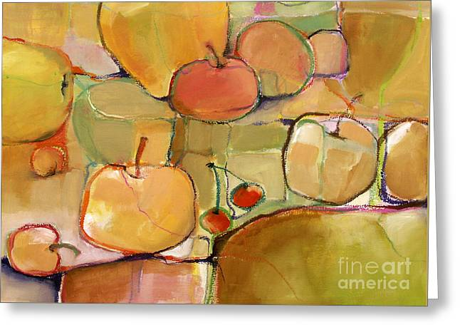 Fruit Still Life Greeting Card by Michelle Abrams