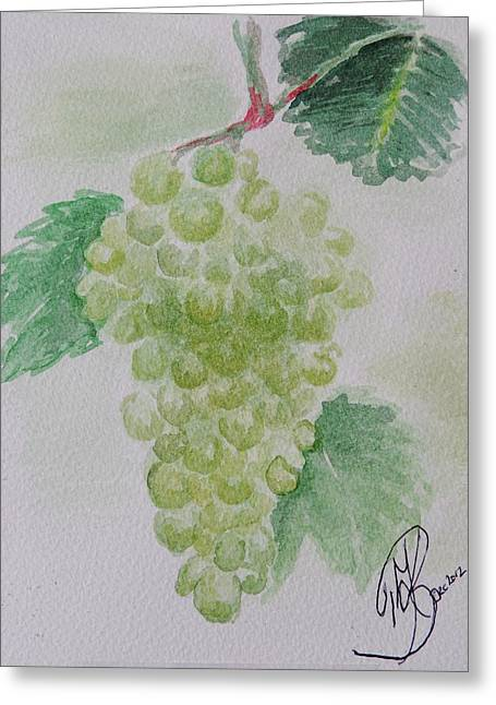 Fruitfulness Greeting Card by Kerstin Berthold