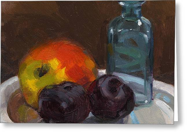 Fruition Greeting Card by Nancy  Parsons