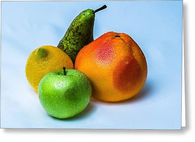 Fruits Greeting Card by Alexander Senin