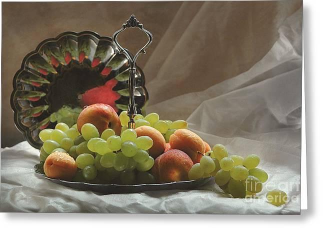 Fruits Greeting Card by Irina No