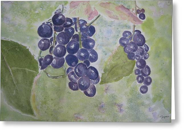 Fruits Of The Wine Greeting Card