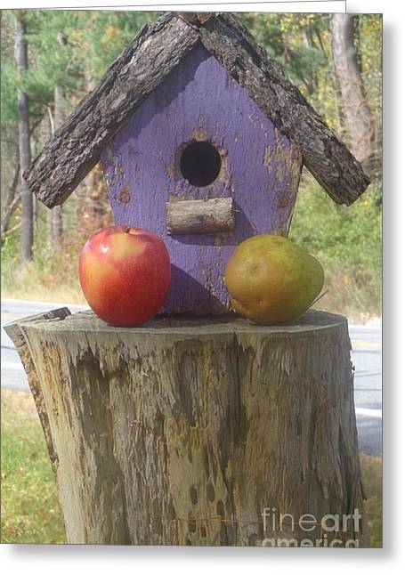 Fruity Home? Greeting Card