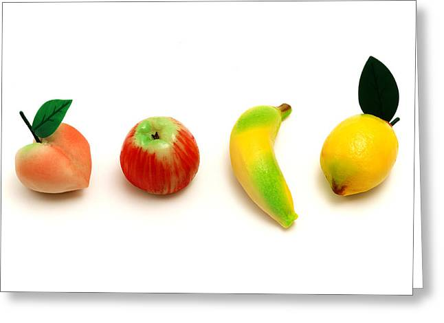 Frutta Martorana Greeting Card by Fabrizio Troiani