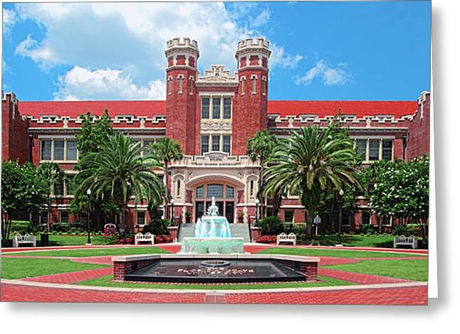 Fsu Westcott Building Greeting Card
