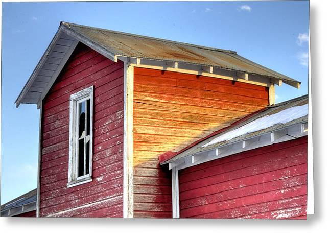 Ft Collins Barn 13502 Greeting Card by Jerry Sodorff