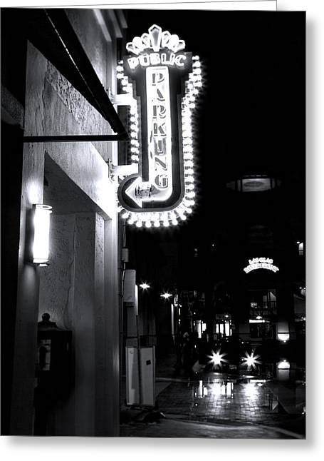 Ft. Lauderdale Nights Greeting Card by Mark Andrew Thomas